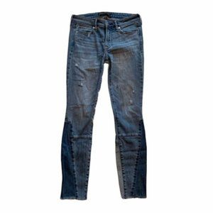 Abercrombie & Fitch Distressed Skinny Ankle Jean